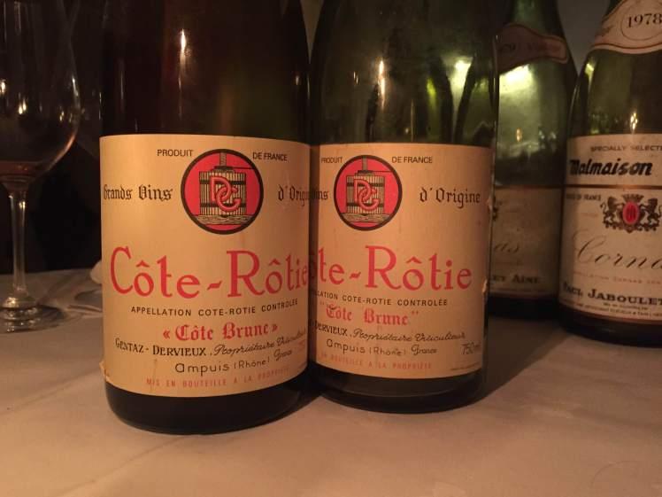 Cote-Rotie Levet wine